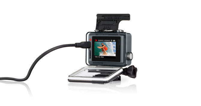 GoPro HERO+ LCD back